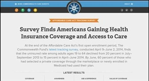 ACA tracking survey